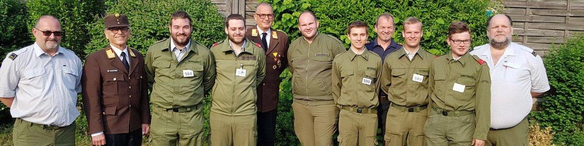 Funkleistungsabzeichen in Bronze 04.05.2018