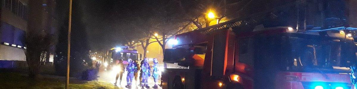 Brandverdacht - Leonfeldnerstraße