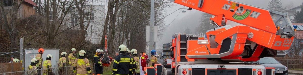 TE-Einsatz: Personenrettung Leonfeldner Straße