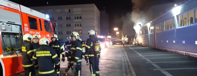 Brandeinsatz - Gewerbepark Urfahr