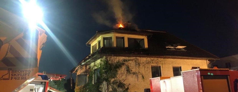Einsatz - Brand Wohnhaus