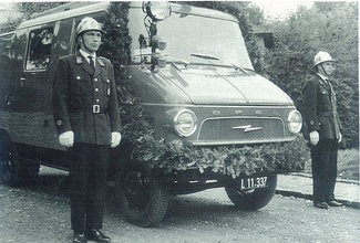 Tankloeschfahrzeug blitz